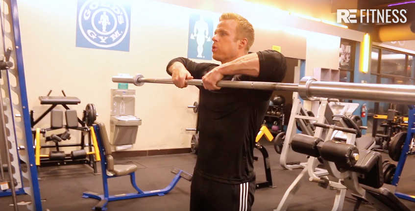 HOW TO DO AN UPRIGHT ROW