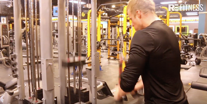 HOW TO DO A TRICEP ROPE PUSHDOWN