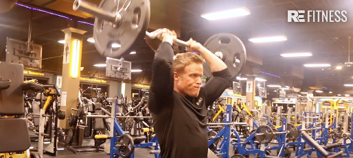 HOW TO DO TRICEP OVERHEAD EXTENSIONS