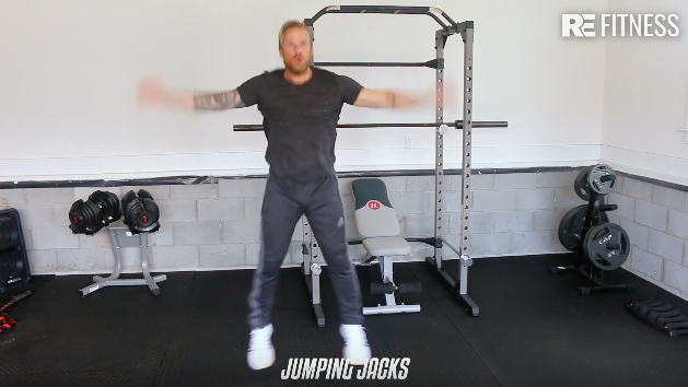 HOW TO DO A JUMPING JACK