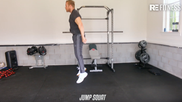 HOW TO DO A JUMP SQUAT