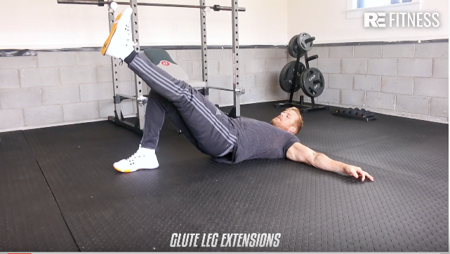 HOW TO DO GLUTE LEG EXTENSIONS