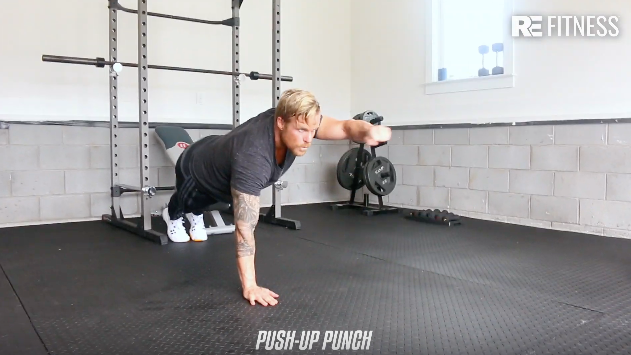 HOW TO DO A PUSH-UP PUNCH