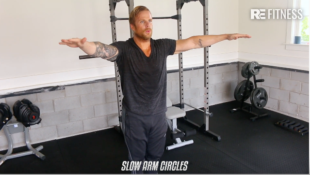 HOW TO DO SLOW ARM CIRCLES