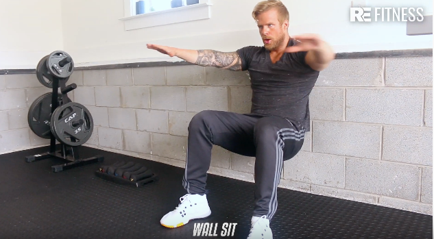 HOW TO DO A WALL SIT