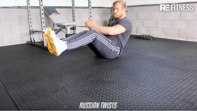 HOW TO DO RUSSIAN TWISTS