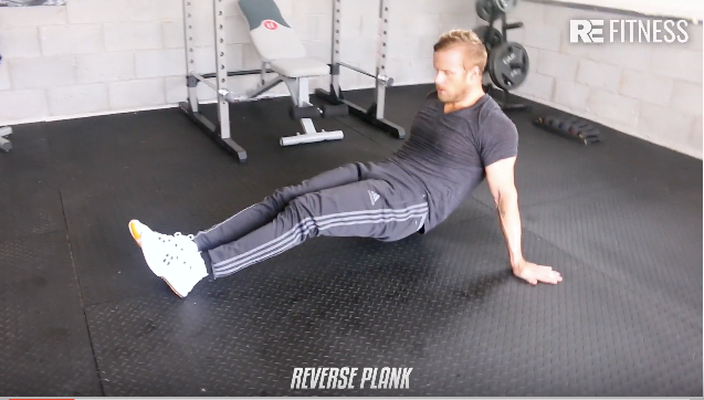 HOW TO DO THE REVERSE PLANK