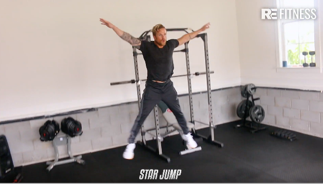 HOW TO DO A STAR JUMP