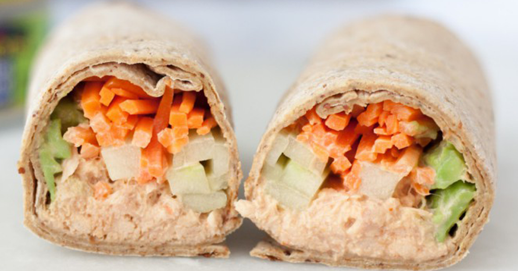 TWO-STEP TUNA WRAP