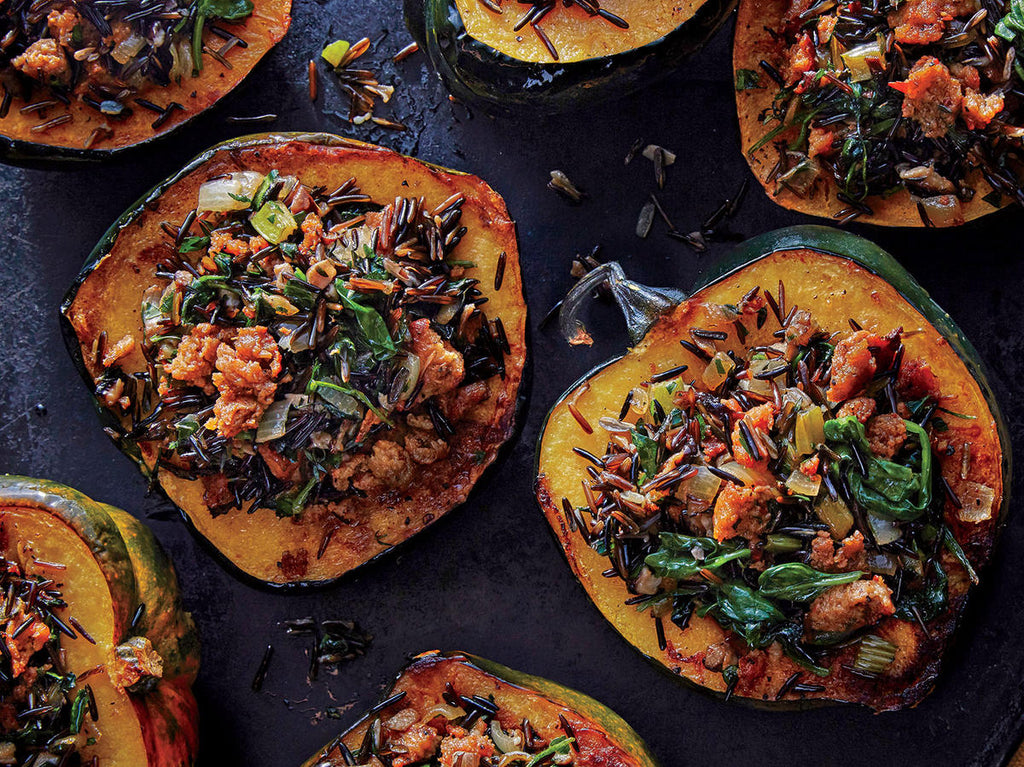 PLANT BASED PROTEIN DISH: WILD SQUASH