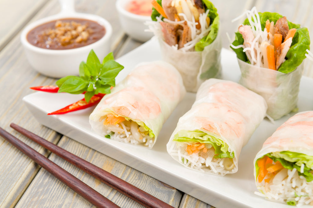 TURKEY SPRING ROLL SNACKERS | GREAT FOR LEFTOVERS