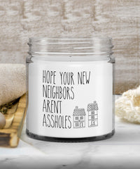 Funny Housewarming Gift Candle