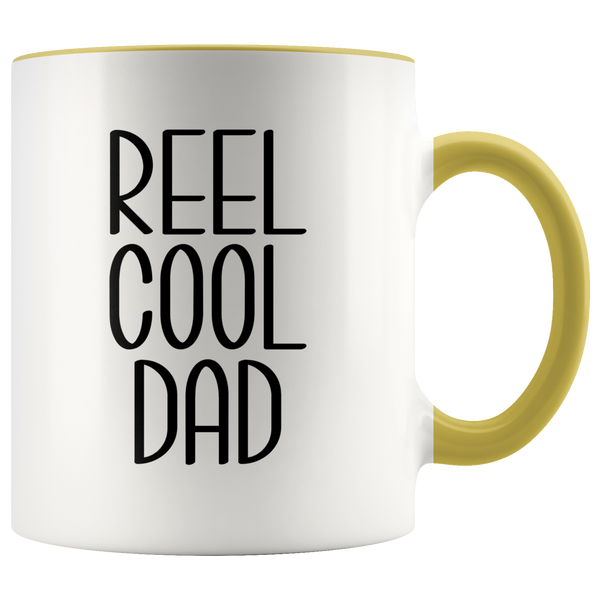 Dad Fishing Mug Funny Fly Fisherman Gift Father's Day Coffee Cup