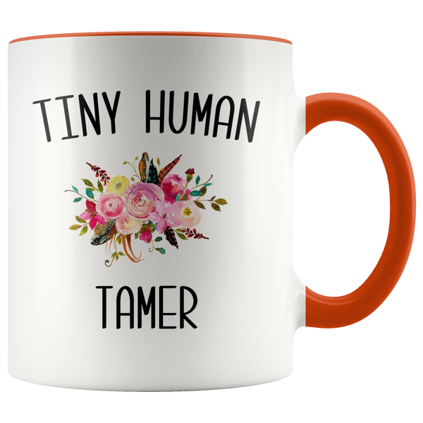 Tiny Human Tamer Mug Daycare Provider Gifts Funny Childcare Worker Preschool Coffee Cup