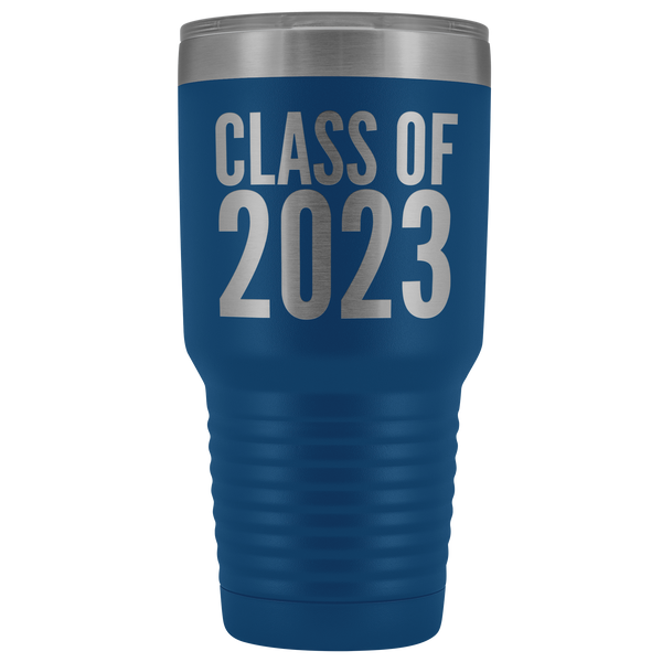 Class of 2023 Graduation Tumbler Gift for Graduate Metal Mug Insulated Hot Cold Travel Coffee Cup 30oz BPA Free