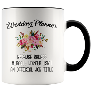 Wedding Planner Gift Wedding Planner Mug Gift for Wedding Coordinator Funny Coffee Cup Thank You