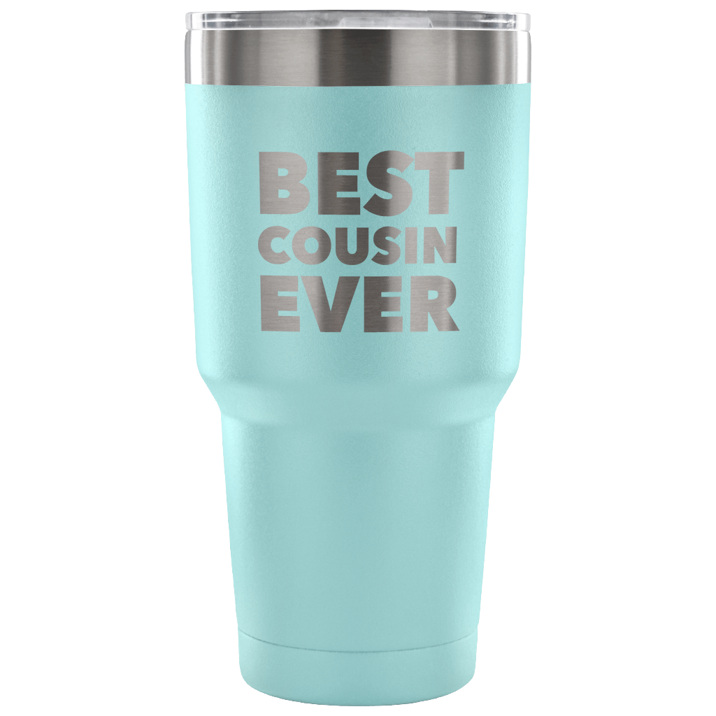 Cousin Pilsner Tumbler Beer Glass Travel Mug Cup Best Cousin Birthday Gift Idea X-95D Funny Cousin Gifts For Cousin Women Men Her Him