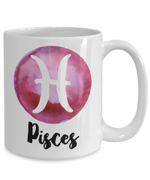 Pisces Mug - Pisces Gifts - Pisces Zodiac Mug - Horoscope Coffee Mug - Astrology Gift - Metaphysical, Celestial, Astrology, Horoscopes-Cute But Rude