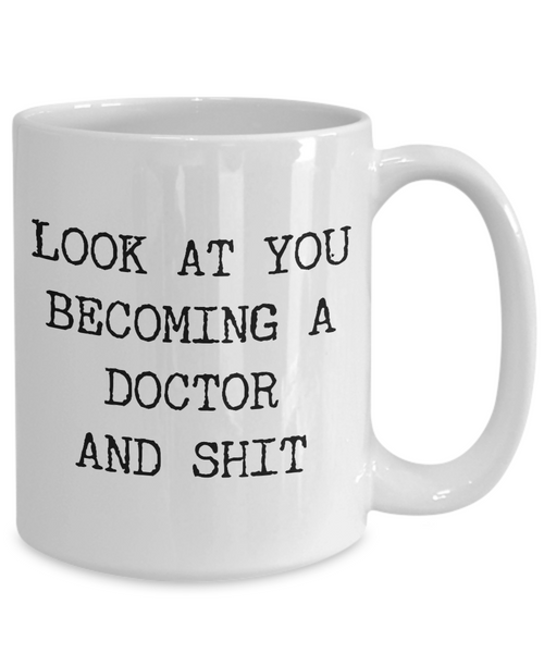 Aspiring Doctor Medical School Student Future Doctor Gifts Doctor Graduation Gifts MCAT Residency License Internship Fellowship Coffee Mug