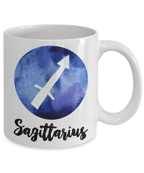 Sagittarius Mug - Sagittarius Gifts - Zodiac Mug - Horoscope Coffee Mug - Astrology Gift - Metaphysical, Celestial, Astrology, Horoscopes-Coffee Mug-HollyWood & Twine