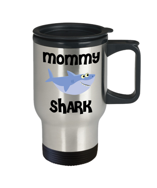Mommy Shark Mug Mommy Gifts Do Do Do Gifts for Mommies Stainless Steel Insulated Travel Coffee Cup