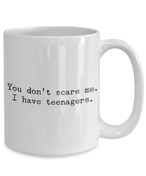 Gifts for Mom - You Don't Scare Me I Have Teenagers - Funny Mom Gifts-HollyWood & Twine