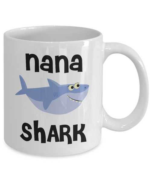 Nana Shark Mug Do Do Do Coffee Cup Nana Birthday Gift Idea Gifts for Nanas