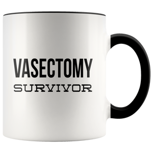 After Vasectomy Gifts Vasectomy Survivor Mug Funny Coffee Cup Happy Vasectomy Day
