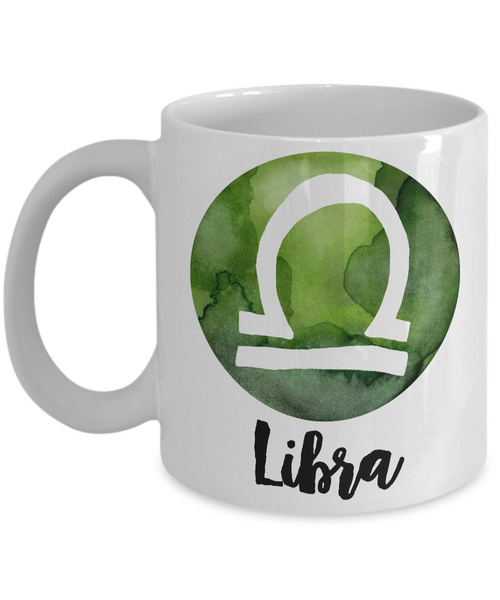 Libra Mug - Libra Gifts - Libra Zodiac Mug - Horoscope Coffee Mug - Astrology Gift - Metaphysical, Celestial, Astrology, Horoscopes