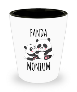 Panda Bear Shot Glass Panda Gift Ceramic Shot Glasses