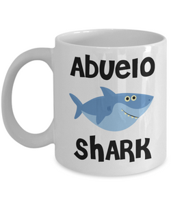 Abuelo Shark Mug Coffee Cup Abuelo Birthday Gift Idea Do Do Do Gifts for Abuelos