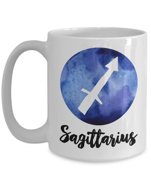 Sagittarius Mug - Sagittarius Gifts - Zodiac Mug - Horoscope Coffee Mug - Astrology Gift - Metaphysical, Celestial, Astrology, Horoscopes