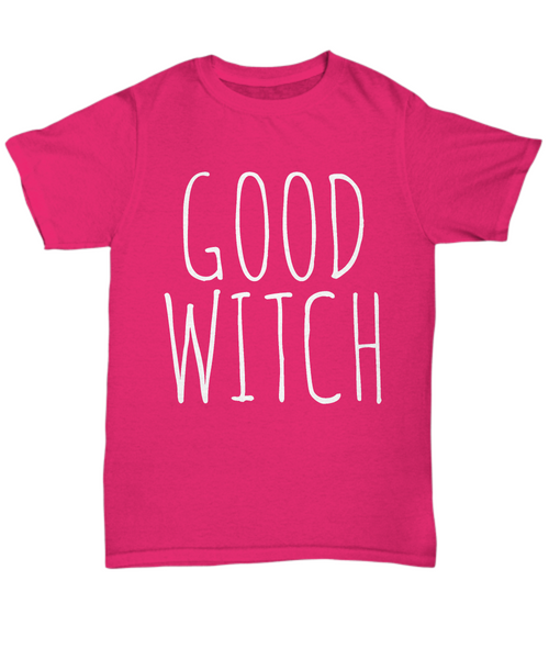 Good Witch Shirt Black Unisex T-Shirt Halloween Gift