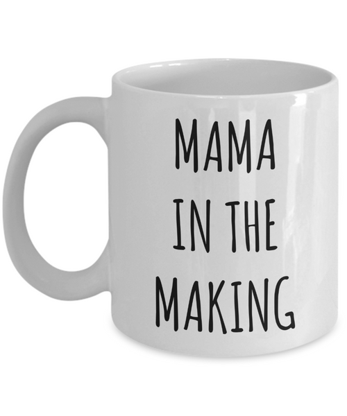 Mama in the Making Adoption Wait Mug Adoption Shower Gifts Adoptive Mom Gift Announcement Party Gift Foster To Adopt Process Waiting Adoption Items Coffee Cup