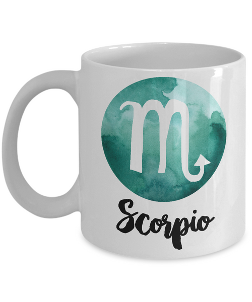 Scorpio Mug - Scorpio Gifts - Zodiac Mug - Horoscope Coffee Mug - Astrology Gift - Metaphysical, Celestial, Astrology, Horoscopes-Cute But Rude