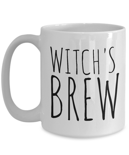 Witches Gifts - Witch Brew Cup - Witch's Brew Coffee Mug Ceramic Tea Cup-Coffee Mug-HollyWood & Twine