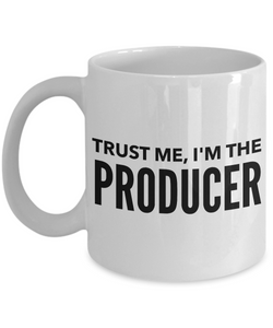 Movie Producer Gifts - Trust Me, I'm the Producer Hollywood Mug-Cute But Rude