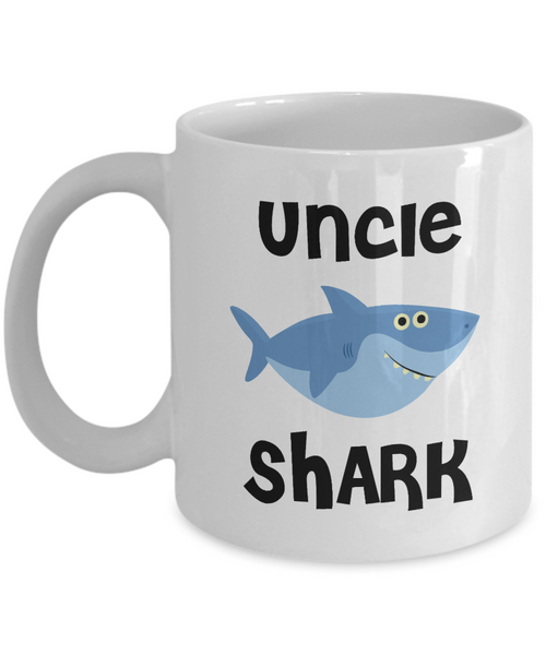 Uncle Shark Mug Do Do Do Coffee Cup Uncle Birthday Gift Idea Gifts for Uncles