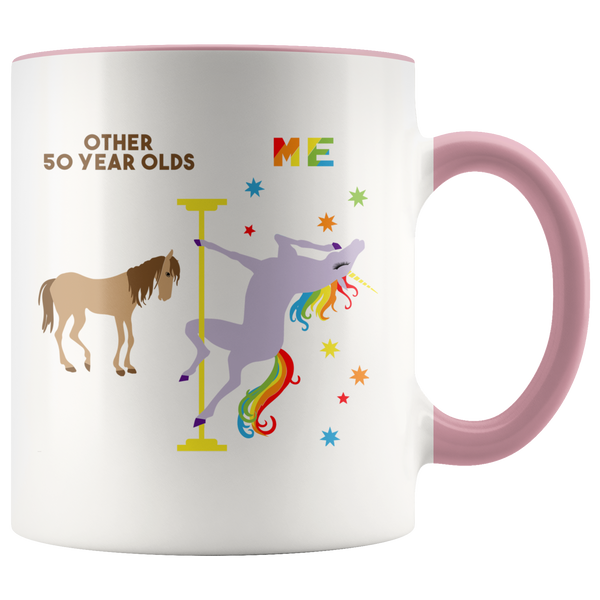 Funny 50th Birthday Gifts for Women 50th Birthday Party Ideas for Her 50 Years Old Mug Turning 50 Midlife Coffee Cup