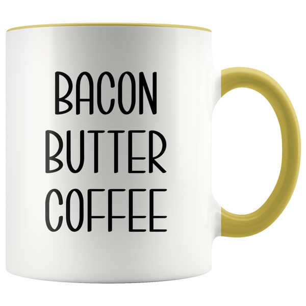 Keto Gifts Keto Cup Ketosis Humor Bacon Butter Coffee Mug Diet Gift