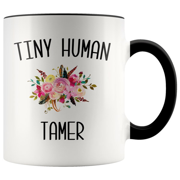 Tiny Human Tamer Mug Daycare Provider Gifts Funny Childcare Worker Coffee Cup