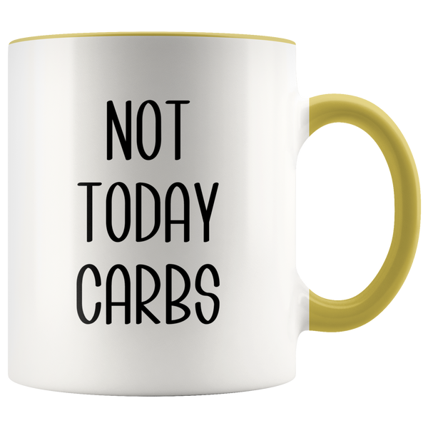 Keto Coffee Mug Weight Loss Gifts Fitness Gift Ideas Not Today Carbs Diet Cup