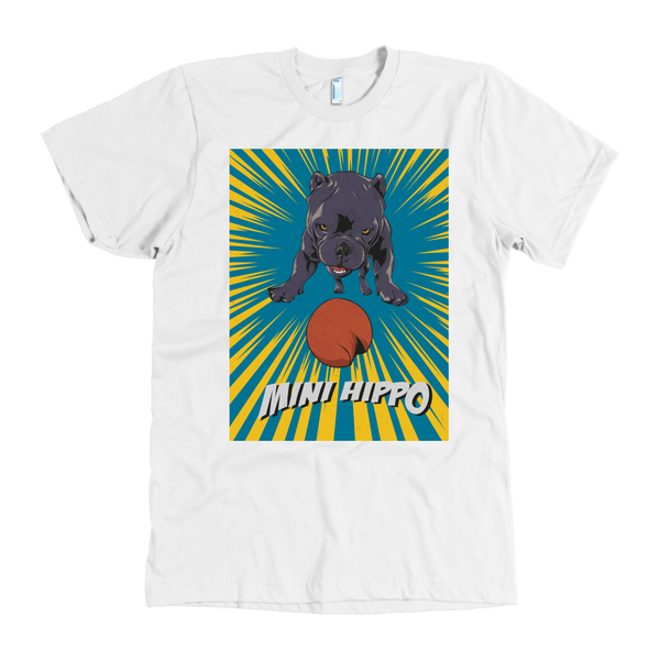 Mini Hippo T-Shirt By American Apparel