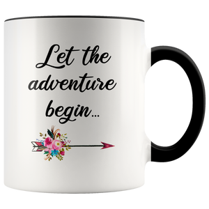Graduate Mug Graduation Gift Congratulations Coffee Cup Gift for Graduate College Student Let the Adventure Begin