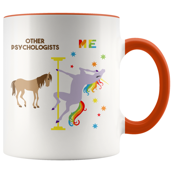 Funny Psychologist Gift Psychology Mug Best Psychologist Ever Psychologist Graduation Coffee Cup Pole Dancing Unicorn