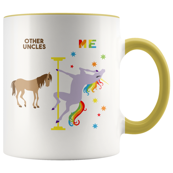 Pole Dancing Unicorn Mug Uncle Gift for Uncle Mug Uncle Birthday Gift Uncle Cup Uncle Gift from Niece Brother Gift for Brother Coffee Cup