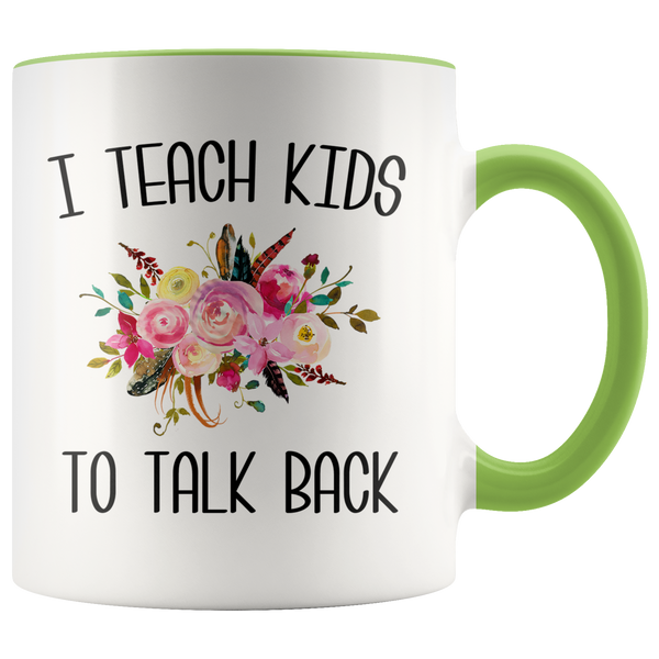Speech Therapist Gifts SLP Mug Thank You Gift for a Speech Language Pathologist SLP Speech Therapy Floral Coffee Cup