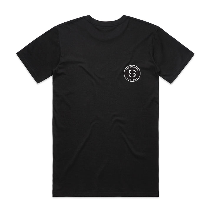 SALTWATER SOCIETY CIRCLE LOGO T-Shirt