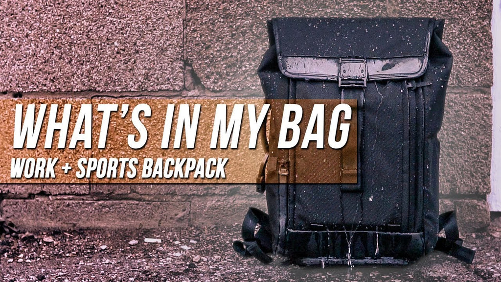 What's In My Work/Sports Bag Ep. 6 - Farer Design Dayfarer Backpack Review