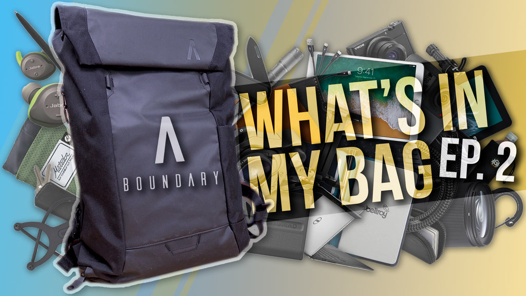 What's In My Bag Ep. 2 - Boundary Errant Backpack